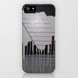 THE SOFT DOWNSLIDE iPhone Case