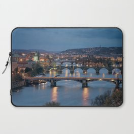Prague Cityscape Laptop Sleeve