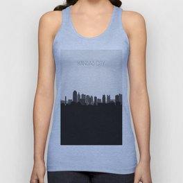 City Skylines: Kansas City (Alternative) Unisex Tank Top