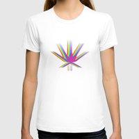 "cannabis T-shirts featuring Rainbow Cannabis by ""LSC"""