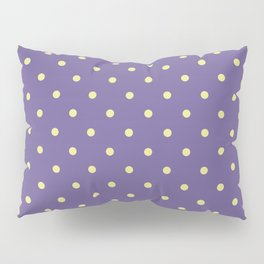 Ultra violet polka dot pattern Pillow Sham