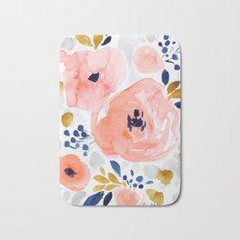 Genevieve Floral Bath Mat