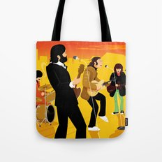 Fab Rooftop Concert Tote Bag