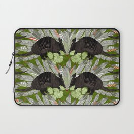 native armadillos green Laptop Sleeve