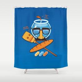 Anti-Mindbenders survival kit Shower Curtain
