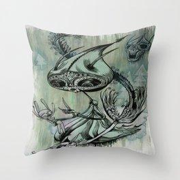 re; 6 Throw Pillow