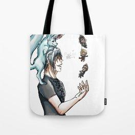 Final Fantasy XV - Chibified! Tote Bag