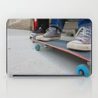 skateboard iPad Cases featuring Skateboard by Mechanical Kayla
