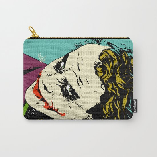 Joker So Serious Carry-All Pouch