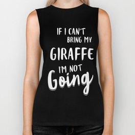 Giraffe-tshirt,-my-Giraffe Biker Tank
