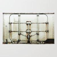 metal Area & Throw Rugs featuring metal by alina vasile
