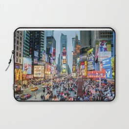 Times Square Tourists Laptop Sleeve