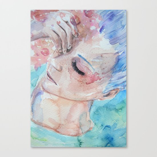 Frustration. Canvas Print