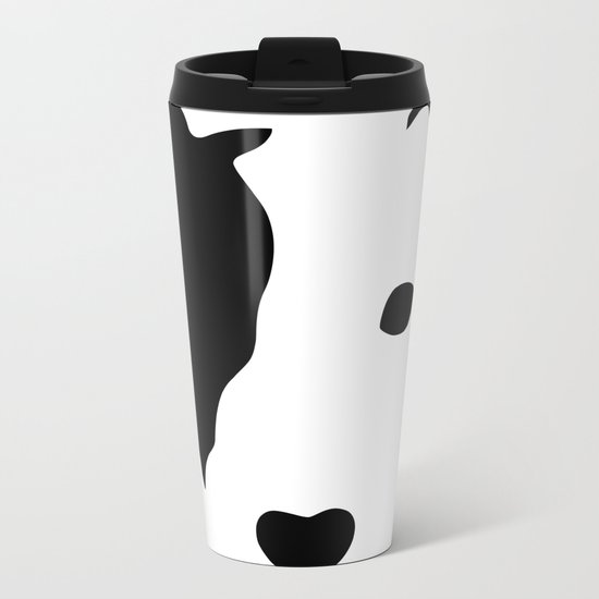 Jack Russell Metal Travel Mug