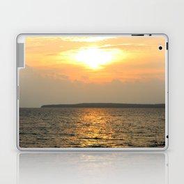 Vertical Sunrise over Lake Huron Laptop & iPad Skin