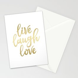 Live Laugh Love II Stationery Cards