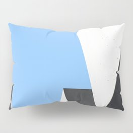 Memorial in Berlin - Abstract Minimalist Photography Art Print Pillow Sham