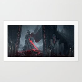 Angel of the Bloodied Dance Art Print