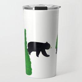 Cute Bear Family Travel Mug