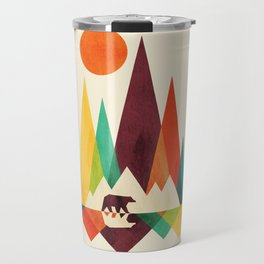 Bear In Whimsical Wild Travel Mug