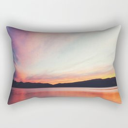 big sky Rectangular Pillow