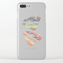 Justice Time Clear iPhone Case