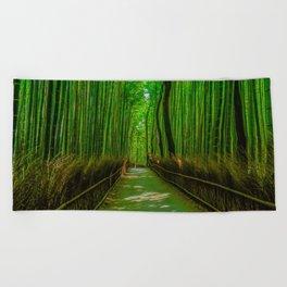Bamboo Trail Beach Towel