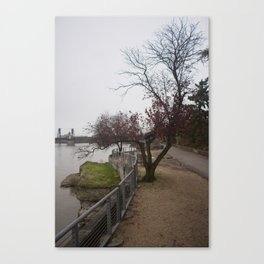 Trees survive in the City Canvas Print