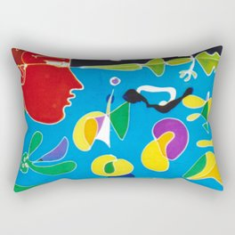 Viewpoint            by Kay Lipton Rectangular Pillow