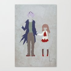 Garry & Ib Canvas Print