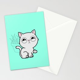 Kitty Knows Sign Language Stationery Cards