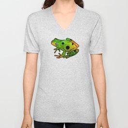 Frog I Unisex V-Neck