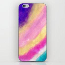 Rainbow Clouding iPhone Skin