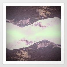 WILD LANDSCAPE 07 Art Print