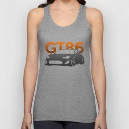 Toyota GT86 Unisex Tank Top
