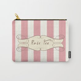 Tea Rose Antique Carry-All Pouch