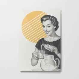 When Life Hands You Lemon Juice Concentrate -- Make Lemonade. Metal Print