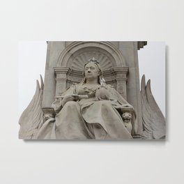 Queen Victoria Monument near Buckingham Palace in London England Metal Print