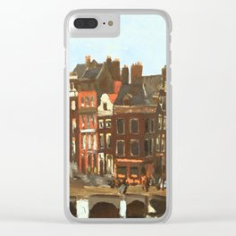 Cycling with Breitner Clear iPhone Case