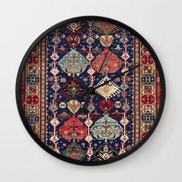 Kuba Sumakh East Caucasus Flatweave Print Wall Clock