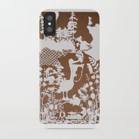 pocahontas iPhone & iPod Cases featuring pocahontas by Melissa F. Lund