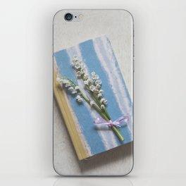 Romantic Book iPhone Skin