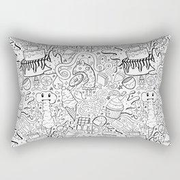 Sweet Bliss Pattern Rectangular Pillow