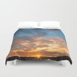 Derry Sunset Duvet Cover