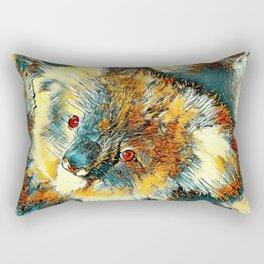 AnimalArt_Koala_20170602_by_JAMColorsSpecial Rectangular Pillow