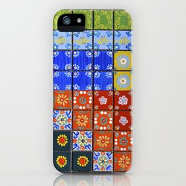 """Country Patchwork (ii)"" by ICA PAVON iPhone Case"