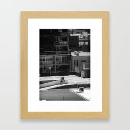 Seriously dude - where's the car. (South Yarra, 2013) Framed Art Print