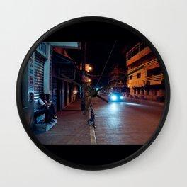 Una Noche Tranquila En Honduras Wall Clock