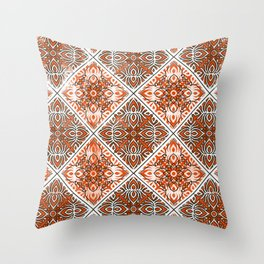 Off To A Great Start Pattern Throw Pillow
