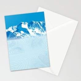 Mt. Alyeska Alaska Stationery Cards